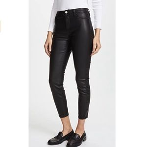 Blank NYC black leather pants 25 vegan NEW
